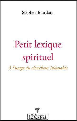 Petit lexique spirituel
