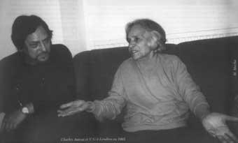 U.G. Krishnamurti & Charles Antoni
