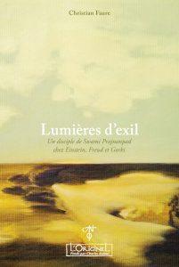 Couverture Lumières d'exil Ch Faure