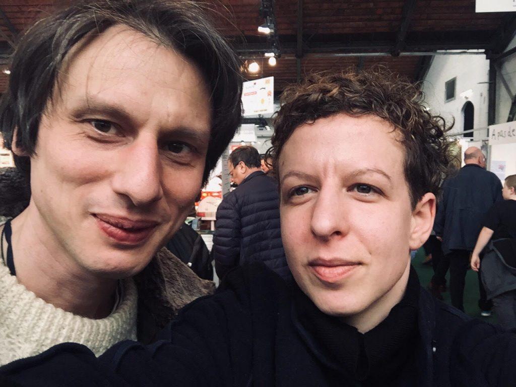 À la Foire du livre à Bruxelles, mars 2020